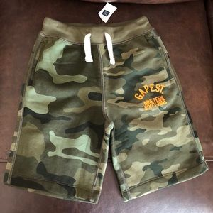 GAP KIDS Pull-On Logo Shorts